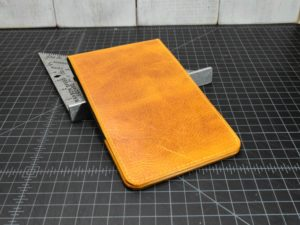 Pinehurst Scorecard Holder in Rustic Gold