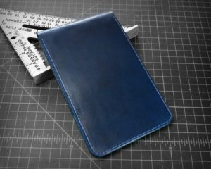 Scorecard Holder & Yardage Book Cover in Blue