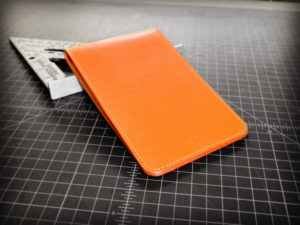 Scorecard Holder & Yardage Book Cover in Orange