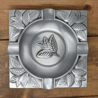 Cigar Ashtray in Antique Silver
