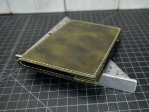 St. Andrews Scorecard Holder in Rustic Steel Grey