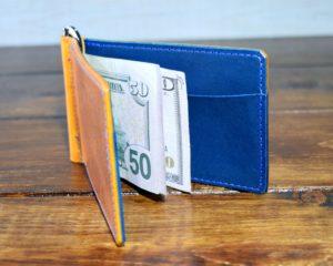 The Bourne Money Clip - Golden Yellow