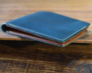 The Classic Bifold - Turquoise