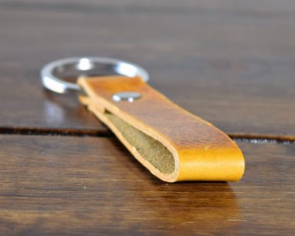 Key Ring Golden Yellow