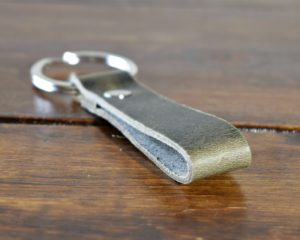 Key Ring Steel Grey