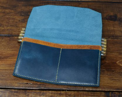 Hunt Long Wallet in Turquoise