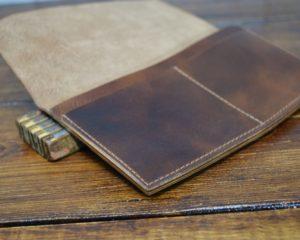 Hunt Long Wallet in Walnut