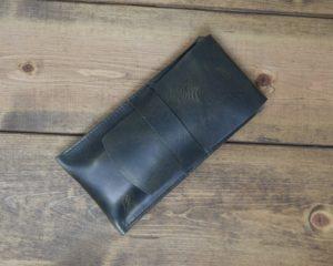 Cigar Pouch in Steel Grey
