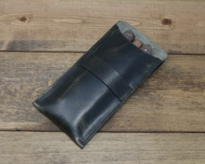 Cigar Pouch in Steel Grey
