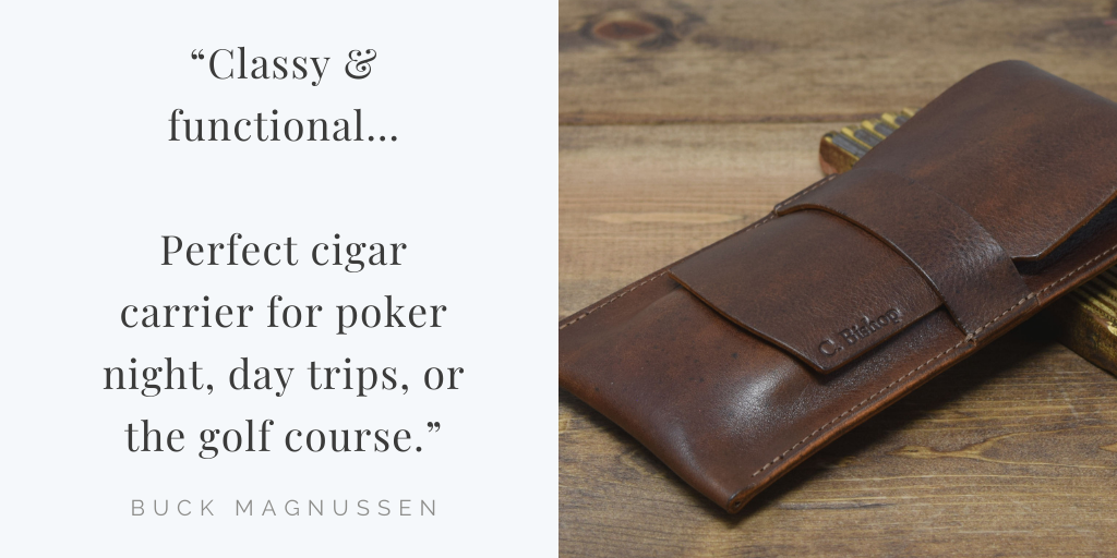 Cigar Pouch Preview